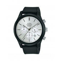 Alba 44mm Chronograph Gents Leather Casual Watch (AT3G23X1)
