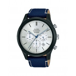 Alba 44mm Chronograph Gents Fabric Casual Watch (AT3G31X1)