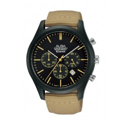 Alba 44mm Gent's Chronograph Nylon Sports Watch - (AT3G47X1)