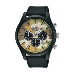 Alba 44mm Gent's Chronograph Nylon Sports Watch - (AT3G49X1)