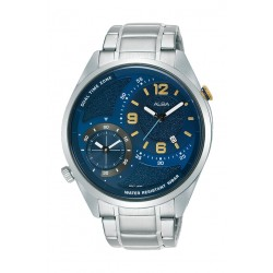 Alba 43mm Gent's Analog Dual Time Metal Watch - (AZ9021X1)