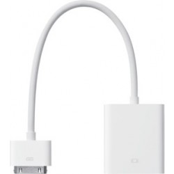 Apple iPad 30-Pin to VGA Adapter - White (MC552ZM/A)