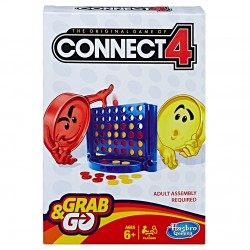 Hasbro Connect 4 Grab - Go Game