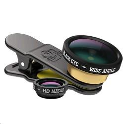 Black Eye 20-26mm HD Wide Angle 2IN1 Lens Set (CM002) - Black 1st view