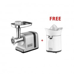 Black + Decker Meat Mincer - 3000W (FM3000) With Citrus Press