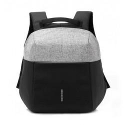 EQ Backpack For 15.6-inch Laptop (KLB1609) - Grey/Black