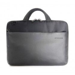 Tucano Dark Slim Hard Case For MacBook 12-inches, Pro 13-inches Retina And iPad Pro – Grey