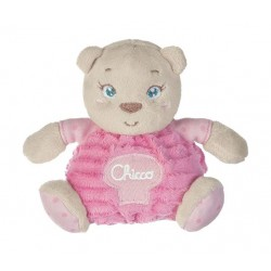 Chicco Small Bear Baby Toy (054T) - Pink