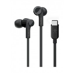 Belkin Rockstar Headphones with USB-C Connector - Black