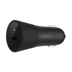 Belkin USB-C Car Charger (F7U071BTBLK) - Black