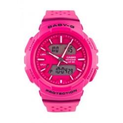 Casio Baby-G Analog-Digital Pink Dial Women's Watch (BGA-240-4ADR)
