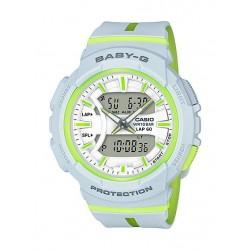 Casio Baby-G Analog-Digital White Dial Women's Watch - (BGA-240L-7ADR)