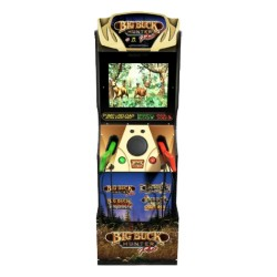 Arcade1Up Big Buck Hunter Pro Arcade Cabinet with Riser in Kuwait | Buy Online – Xcite