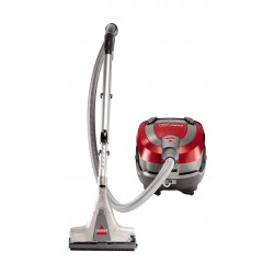 Bissell 1991E Hydroclean Compact 2.4L Wet and Dry Vacuum Cleaner - Red