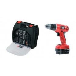 Black + Decker 12V Electric Cordless Drill (EPC12100K-QW)