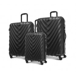 Kamiliant Spinner Set Of 3 Hard Luggage (GD8X09008) - Black