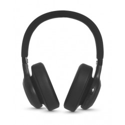JBL E55BT Bluetooth Over-Ear Wireless Headphones - Black