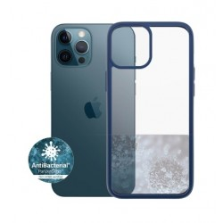 Panzer iPhone 12-12 Pro Anti-Bacterial Case - Blue