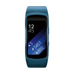 Samsung Gear Fit 2 Fitness Tracker (Large) – Blue