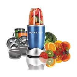 Magic Bullet 600W NutriBullet Blender 8 Piece Set (NBR-0812B) – Blue
