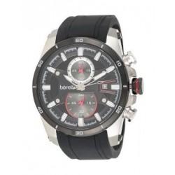 Borelli BMS12500005 Gents Chronograph Watch - Rubber Strap – Black