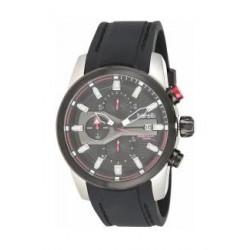 Borelli BMS12500018 Gents Chronograph Watch - Rubber Strap – Black