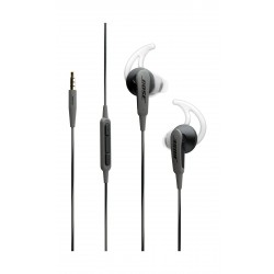 Bose SoundSport In-Ear Wired HeadPhones For Apple/IOS- Charcoal Black