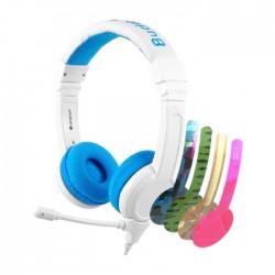 BuddyPhones School+ Wired Blue Kids Gaming Headphones in Kuwait | Buy Online – Xcite