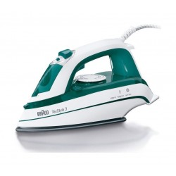 Braun TexStyle 3 Steam Iron (TS345) - Green