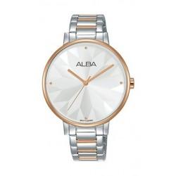 Alba 36mm Analog Ladies Metal Watch (AH8542X1) - Silver
