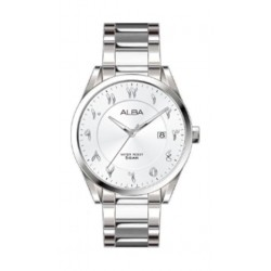 Alba Casual 41mm Analog Gent's Metal Watch With Arabic Numerals - AS9J57X1