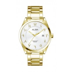 Alba Casual 41mm Analog Gent's Metal Watch With Arabic Numerals - AS9J58X1