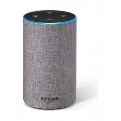 Amazon Echo Gen2 Smart Speaker - Heather Gray Fabric