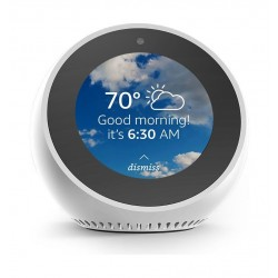 Amazon Echo Spot Smart  Speaker with Display - White