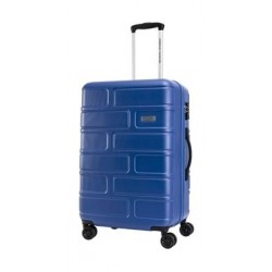 American Tourister Bricklane Hard Luggage 55cm - Blue