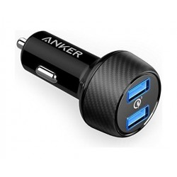 Anker Anker PowerDrive Speed 2 Dual Q3 Car Charger - Black