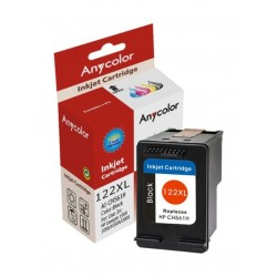 AnyColor 122XL High Yield Ink Cartridge - Black