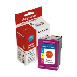 AnyColor 122XL High Yield Ink Cartridge - TriColor