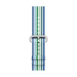 Apple 42mm Smart Watch Woven Nylon Band (MRHG2) - Blue Green