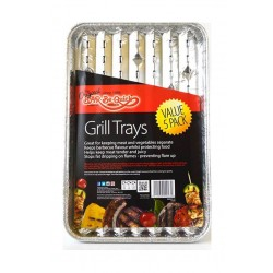 Bar-Be-Quick Grill Trays 5Pack