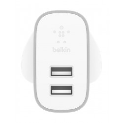 Belkin Boost Charge 2-Port Home Charger - F7U049MYSLV 2