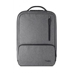 Belkin Classic Pro Backpack For Up To 15.6 Laptop (F8N900BTBLK) - Grey