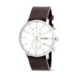 Borelli Sports 43mm Chronograph Gents Leather Watch - 20053453