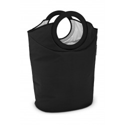 Brabantia Portable Laundry Basket and Bag - Black