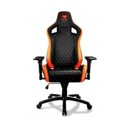 Cougar Armor S Gaming Chair - Charcoal Black