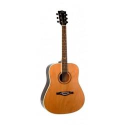 EKO NXT-D Acoustic Guitar - Brown