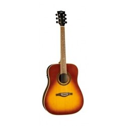 EKO One D EQ Vintage Burst Acoustic Guitar