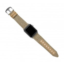 Evutec Northill Watch Band for Apple Watch 42mm - Tweed Tan 2
