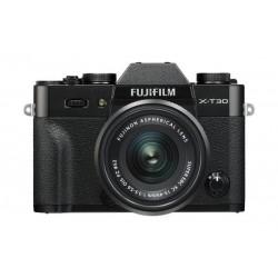 Fujifilm X-T30 Mirrorless Camera + 15-45mm Lens - Black 2
