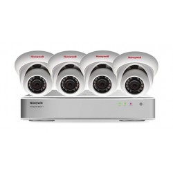 Honeywell 4 Camera + 4Ch Recorder Security System